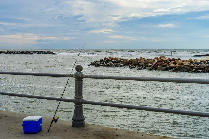 Virginia Beach Boardwalk, Virginia Beach parc d'USA - 12 septembre 2017 île de canon isolant photographie stock