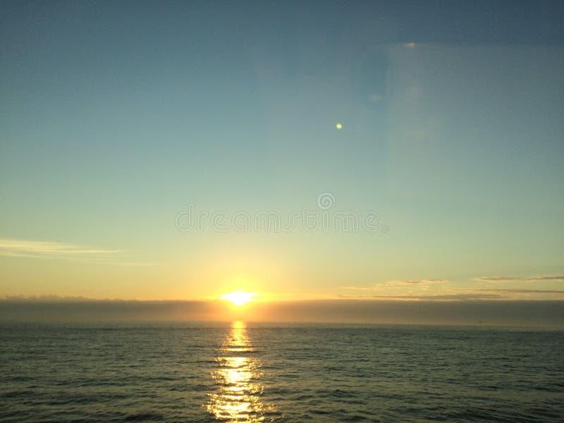 Virginia Beach på soluppgång royaltyfri fotografi