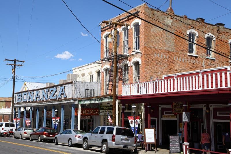 Virginia City fotos de stock royalty free