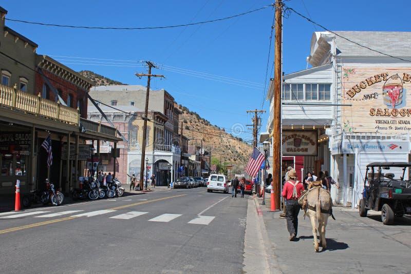 Virginia City, Nevada imagem de stock royalty free