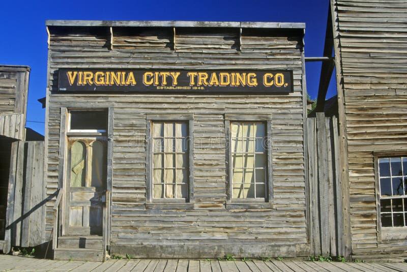 Virginia City Trading Co , TA imagens de stock