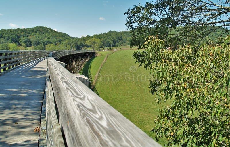 Virginia Creeper Trail fotografia de stock royalty free
