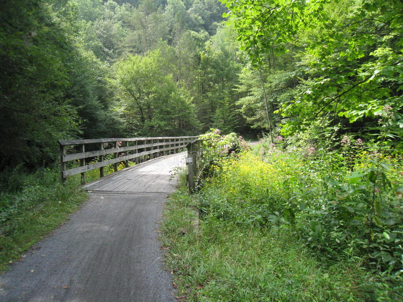 Virginia Creeper Trail fotografie stock libere da diritti