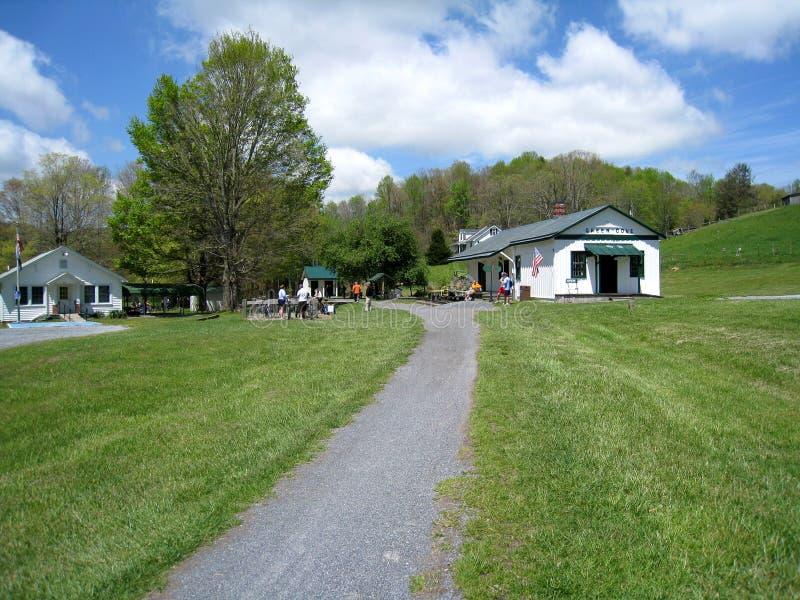 Virginia Creeper Trail royalty-vrije stock foto's