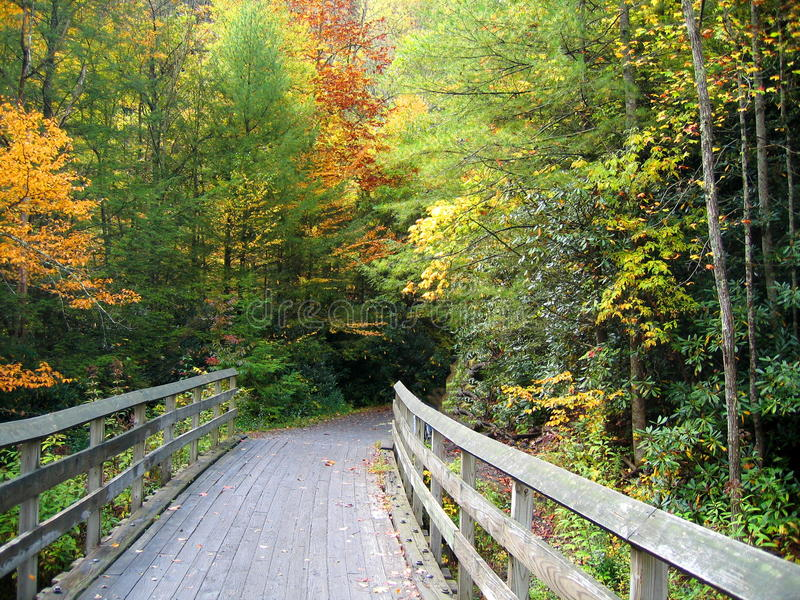 Virginia Creeper Trail stock fotografie