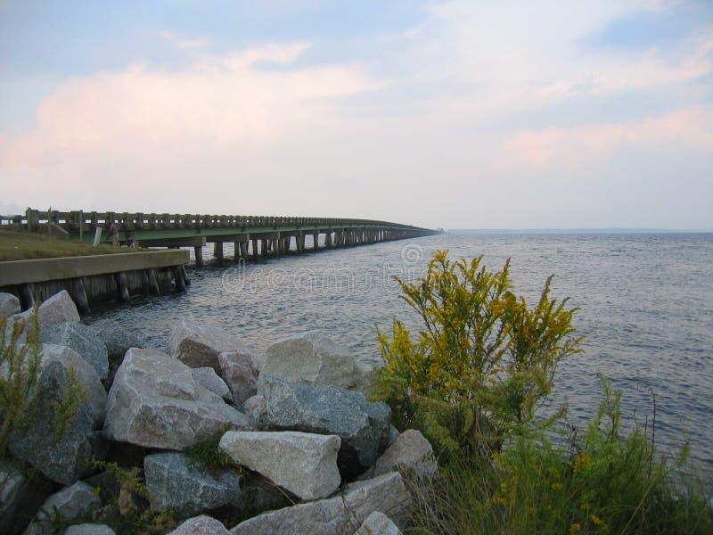 Virginia Dare Memorial Bridge imagenes de archivo