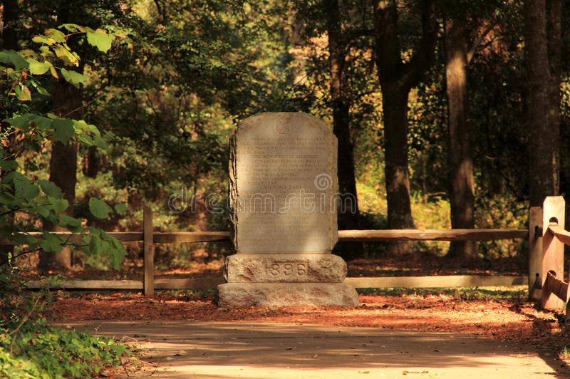 Virginia Dare Monument royaltyfria bilder
