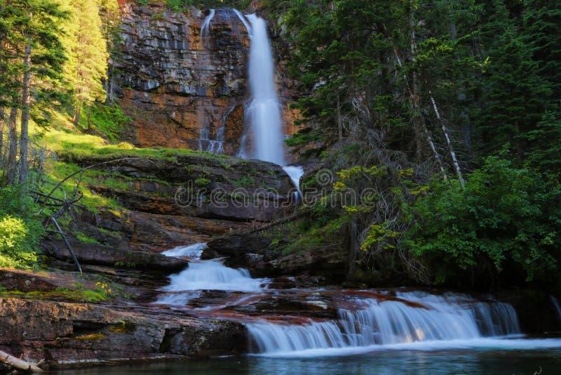 Virginia Falls image stock