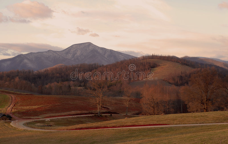 Virginia-Landschaft lizenzfreies stockfoto