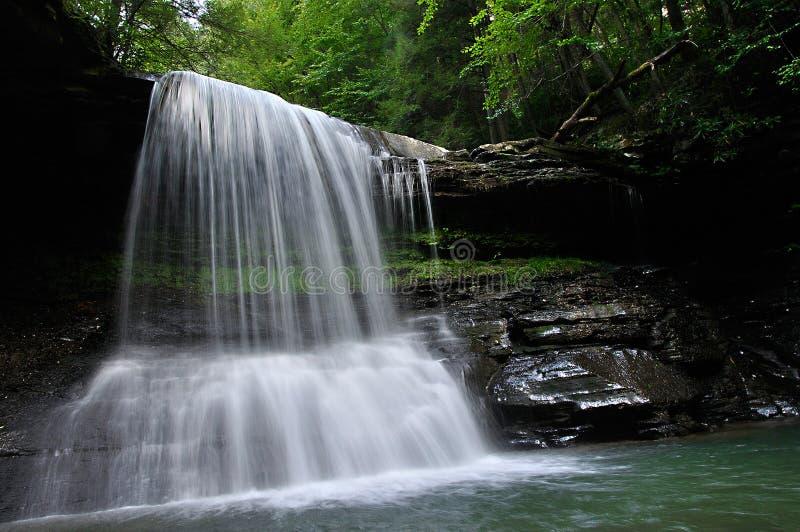 Virginia Mountain Waterfall del oeste imagen de archivo libre de regalías