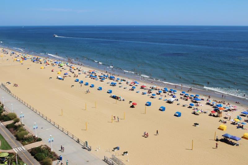 Virginia plaża, usa obrazy stock