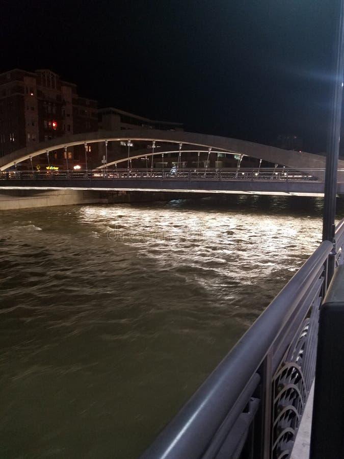 Virginia St Bridge stock afbeeldingen