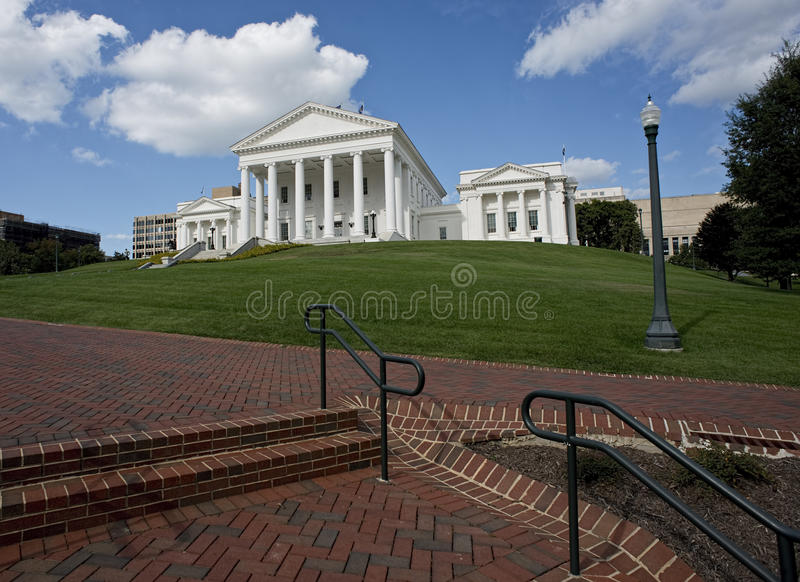 Virginia State Capital Building royalty-vrije stock afbeeldingen