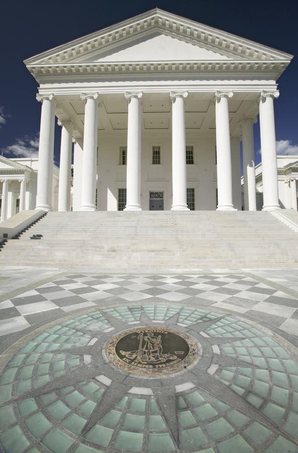 Virginia State Capitol stockfoto