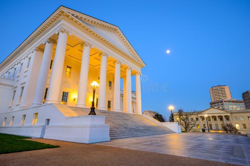 Virginia State Capitol imágenes de archivo libres de regalías