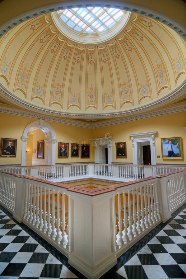 Virginia State Capitol royaltyfria bilder