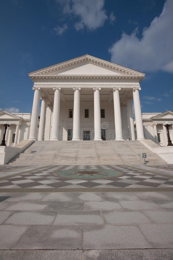 Download Virginia State Capitol Building Stock Image - Image: 10485657