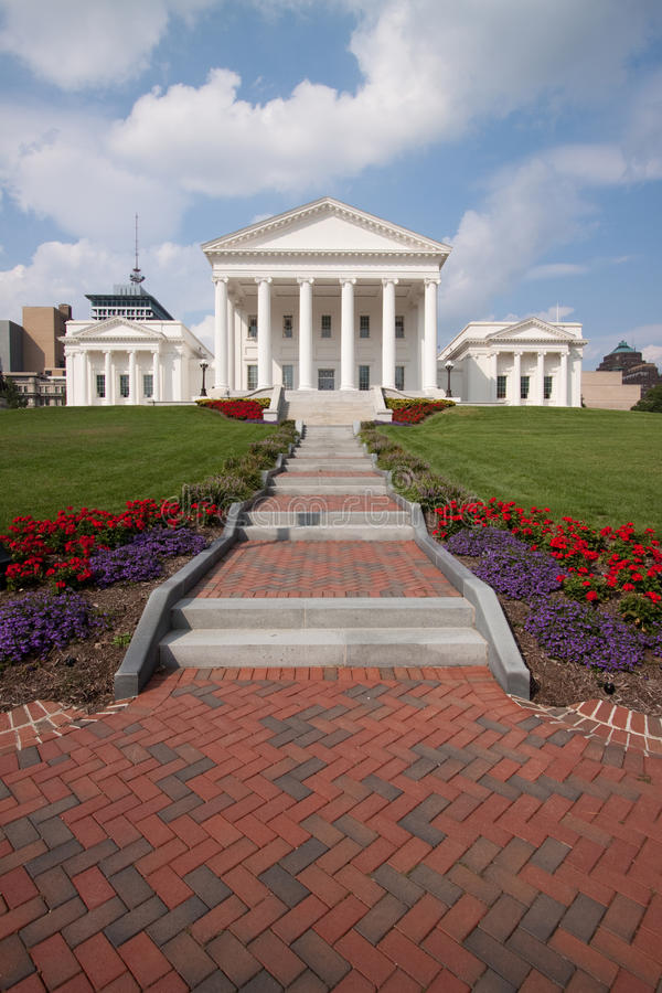 Virginia State Capitol Building royalty free stock photography