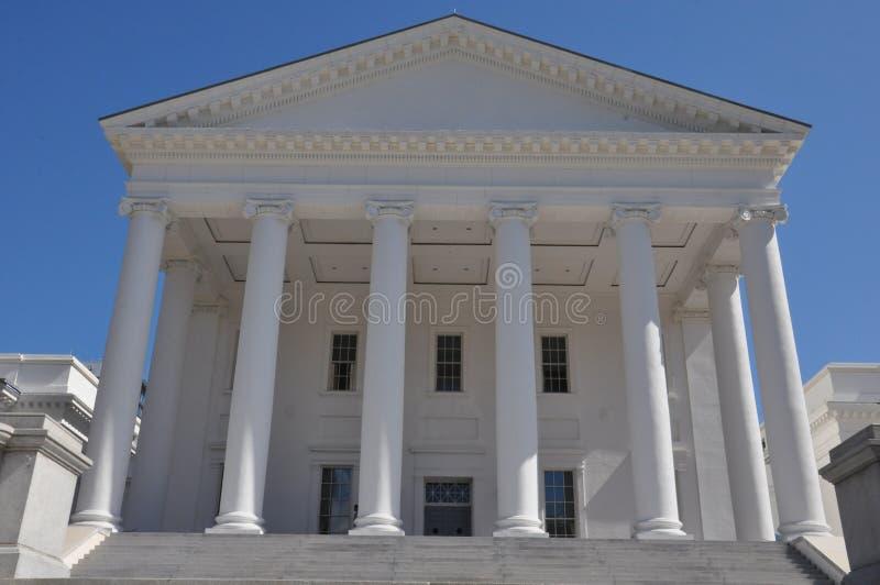 Virginia State Capitol en Richmond imagen de archivo libre de regalías