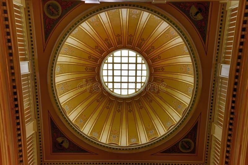 Virginia State Capitol - Richmond, la Virginia fotografie stock libere da diritti