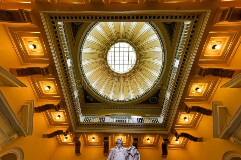 Virginia State Capitol - Richmond, Virgínia imagem de stock