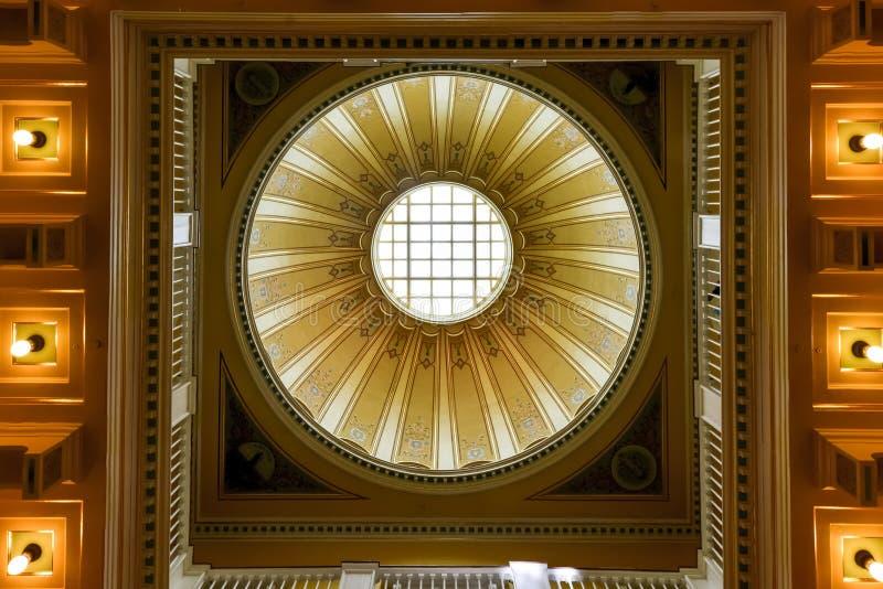 Virginia State Capitol - Richmond, Virgínia fotografia de stock