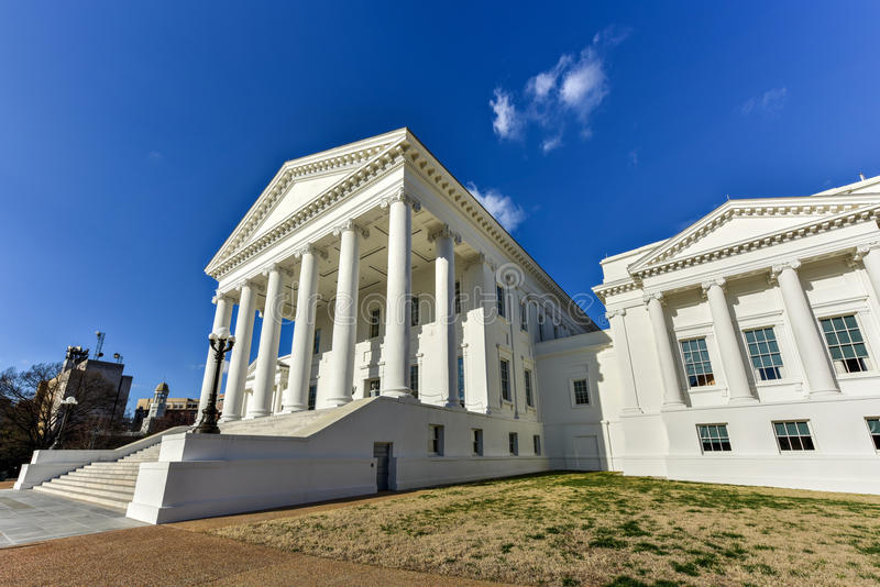 Virginia State Capitol - Richmond, Virginia stock afbeelding