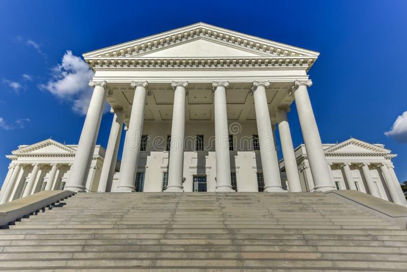 Virginia State Capitol - Richmond, Virginia stock afbeeldingen