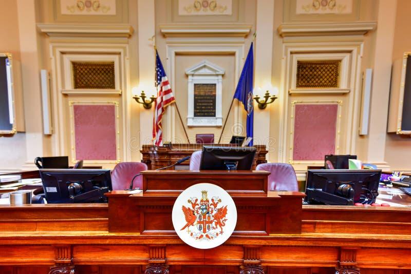 Virginia State Capitol - Richmond, Virginia royaltyfri foto