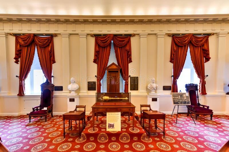 Virginia State Capitol - Richmond, Virginia royalty-vrije stock foto's