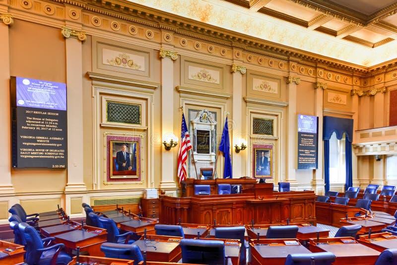 Virginia State Capitol - Richmond, Virginia royalty-vrije stock fotografie