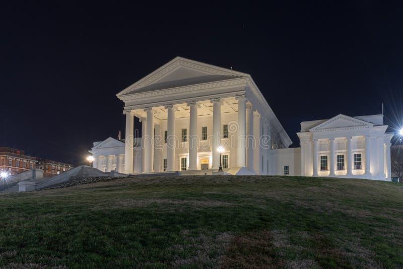 Virginia State Capitol - Richmond, Virginia royalty-vrije stock afbeeldingen