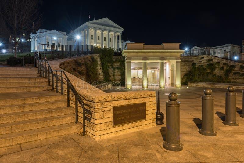 Virginia State Capitol - Richmond, Virginia royaltyfri fotografi