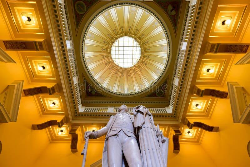 Virginia State Capitol - Richmond, Virginia royalty-vrije stock afbeelding