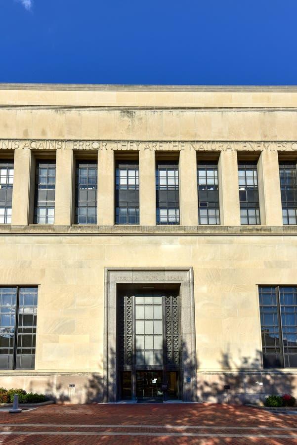 Virginia State Library - Richmond, Virgínia imagens de stock