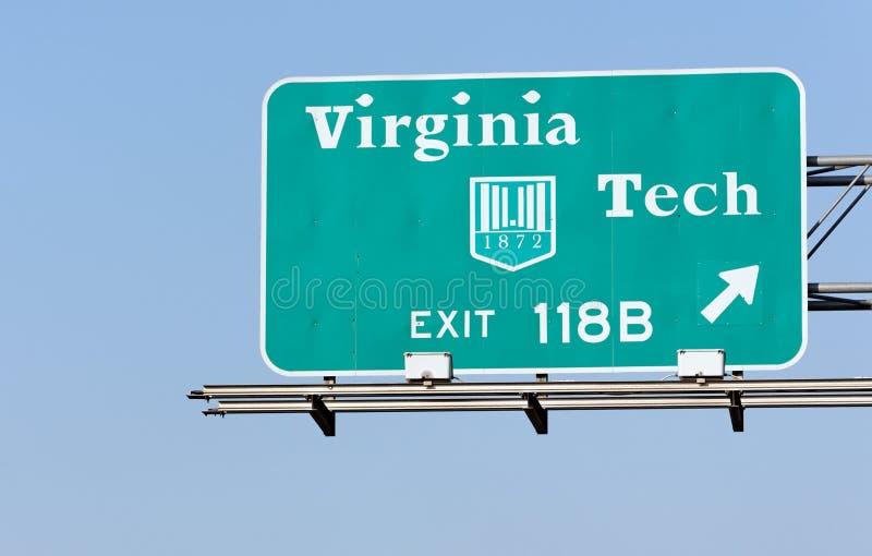 Virginia Tech fotografia de stock