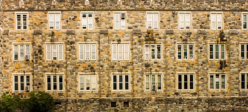Virginia Tech Building Detail stock foto's
