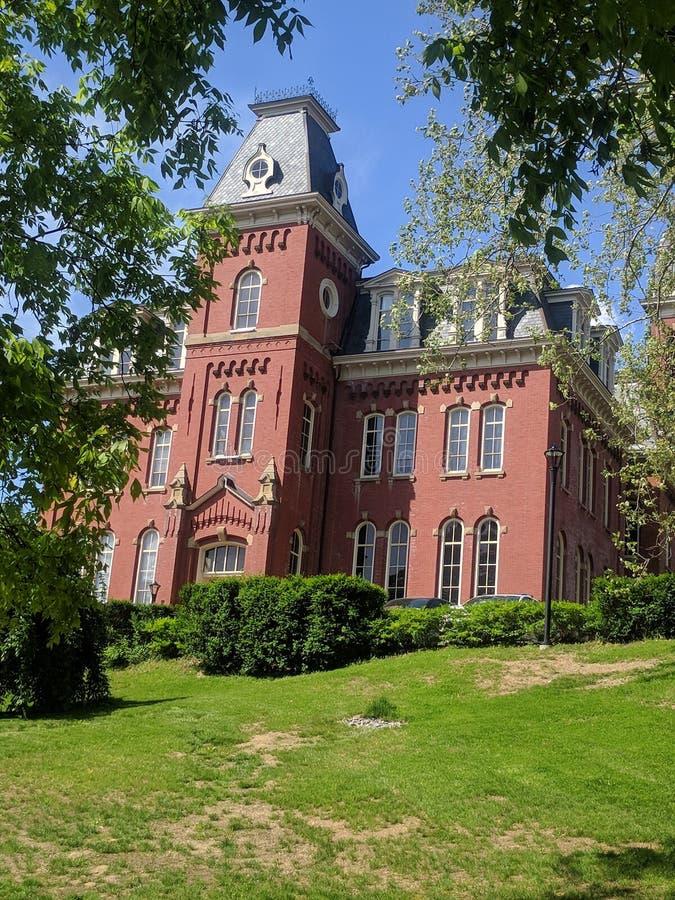 Virginia University ad ovest fotografia stock