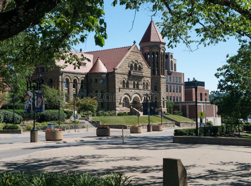 Virginia University occidentale à Morgantown WV images libres de droits