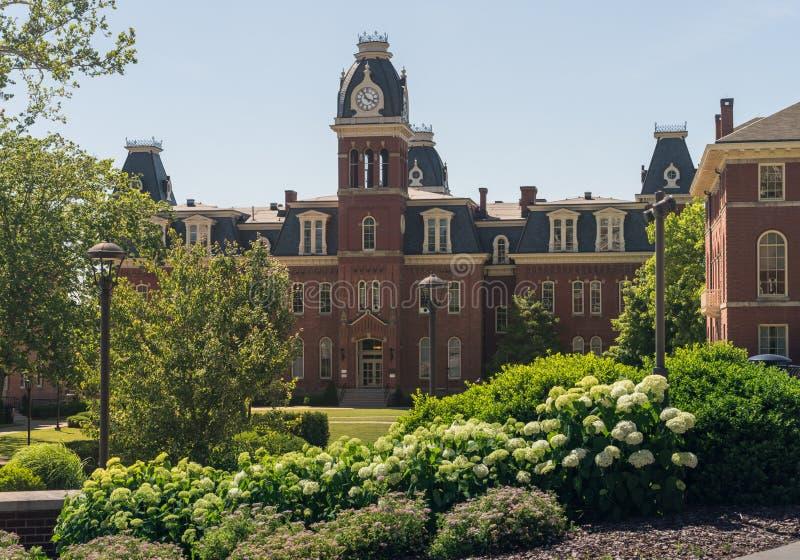 Virginia University occidentale à Morgantown WV image libre de droits