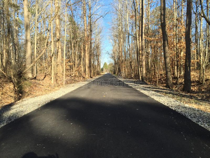 Virginia Walking Path imágenes de archivo libres de regalías