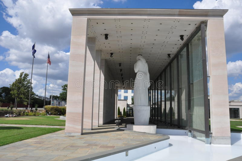 Virginia War Memorial en Richmond imágenes de archivo libres de regalías