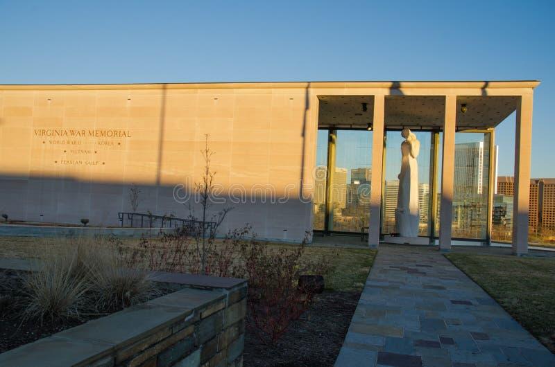 Virginia War Memorial stock images