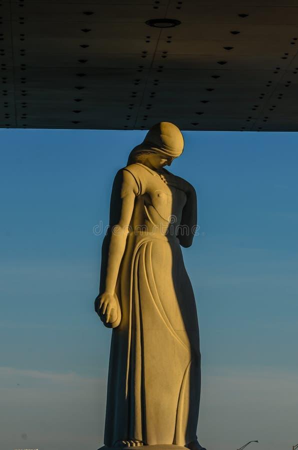 Virginia War Memorial In Richmond, la Virginie, Etats-Unis photo stock