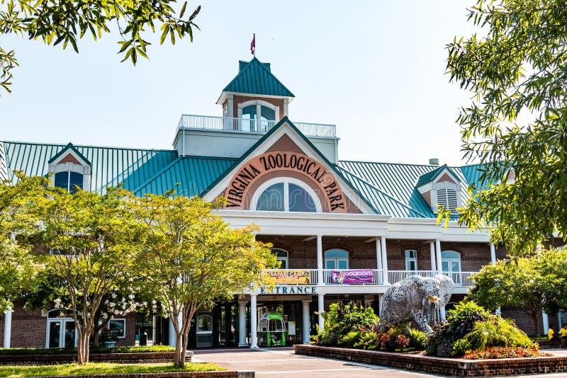 Virginia Zoologiczny park w Norfolk, Virginia zdjęcie royalty free