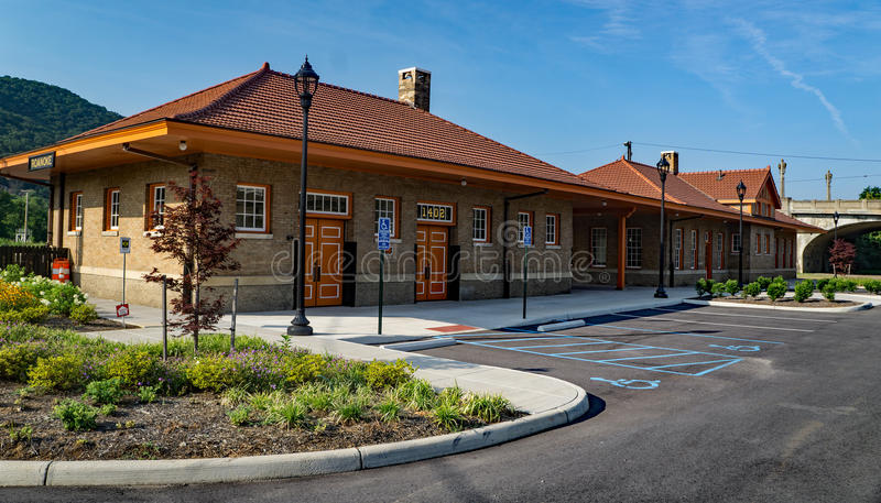 Virginian Railroad Station stock image
