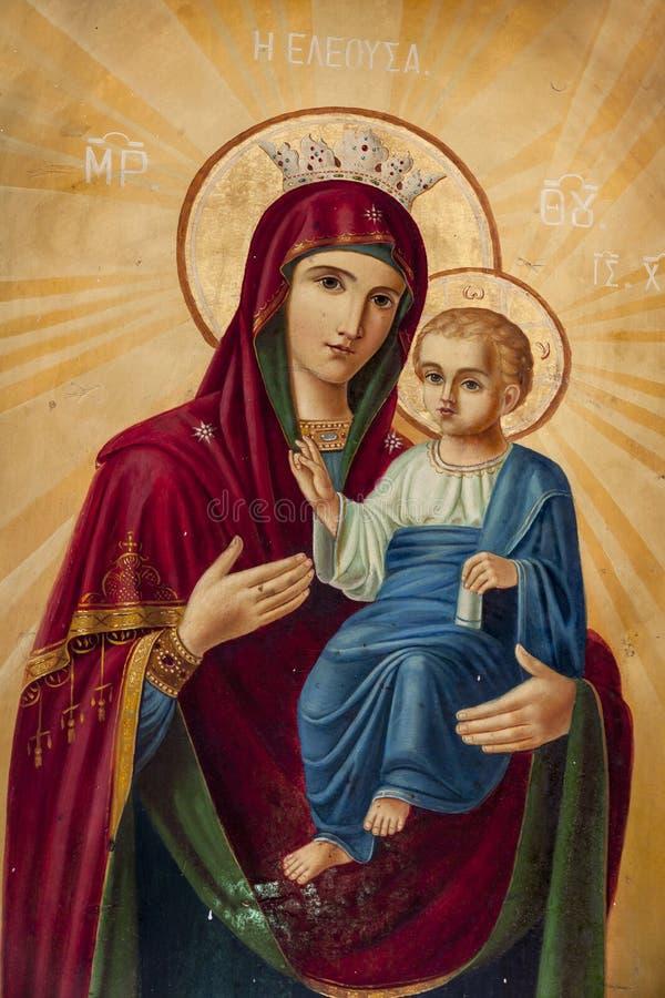 Virgn Mary lizenzfreie stockbilder