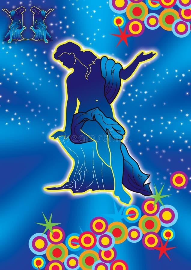 Download Virgo stock illustration. Image of virgo, future, cosmos - 2310905
