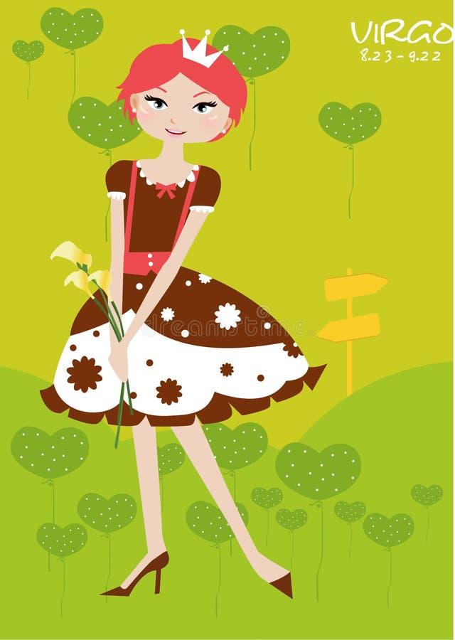 VIRGO royalty illustrazione gratis