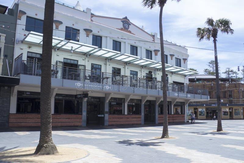 VIRILE, L'AUSTRALIA 16 DICEMBRE: Nuovo Brighton Hotel in virile sul De fotografia stock libera da diritti